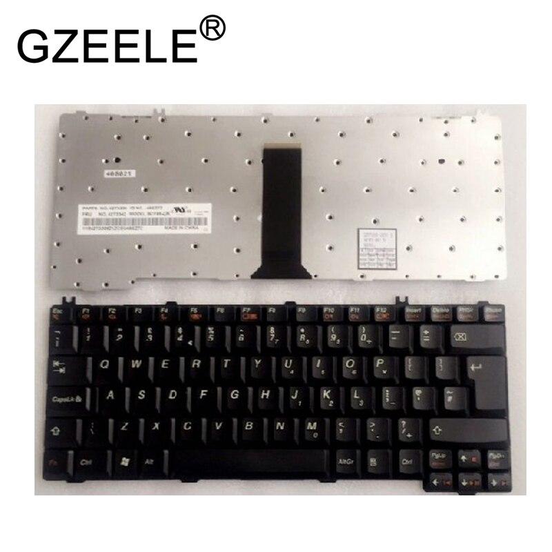 GZEELE nouveau clavier UK pour IBM pour Lenovo 3000 C100 C200 F31 F41 G420 G430 G450 G530 A4R N100 clavier d'ordinateur portable noir UK QWERTY