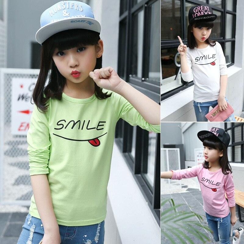 Girls tshirt Kids clothes T-shirt for girl 2017 new arrival t-shirt Camiseta infantil menino Cotton tshirts girls fashion print