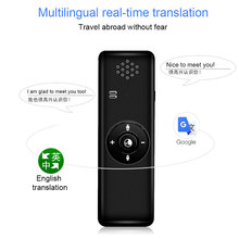 Global traductor de voz simultaneo Portable Smart Bluetooth Voice Interpreter Real Time Speech Multilingual Translator instant portable smart voice translator wifi instant voice translator real time 45 multi language translation traductor for business