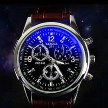 YAZOLE 271 Cheap Luminous Sports Waterproof Quartz Wristwatches leisure fashion Business Men Watch