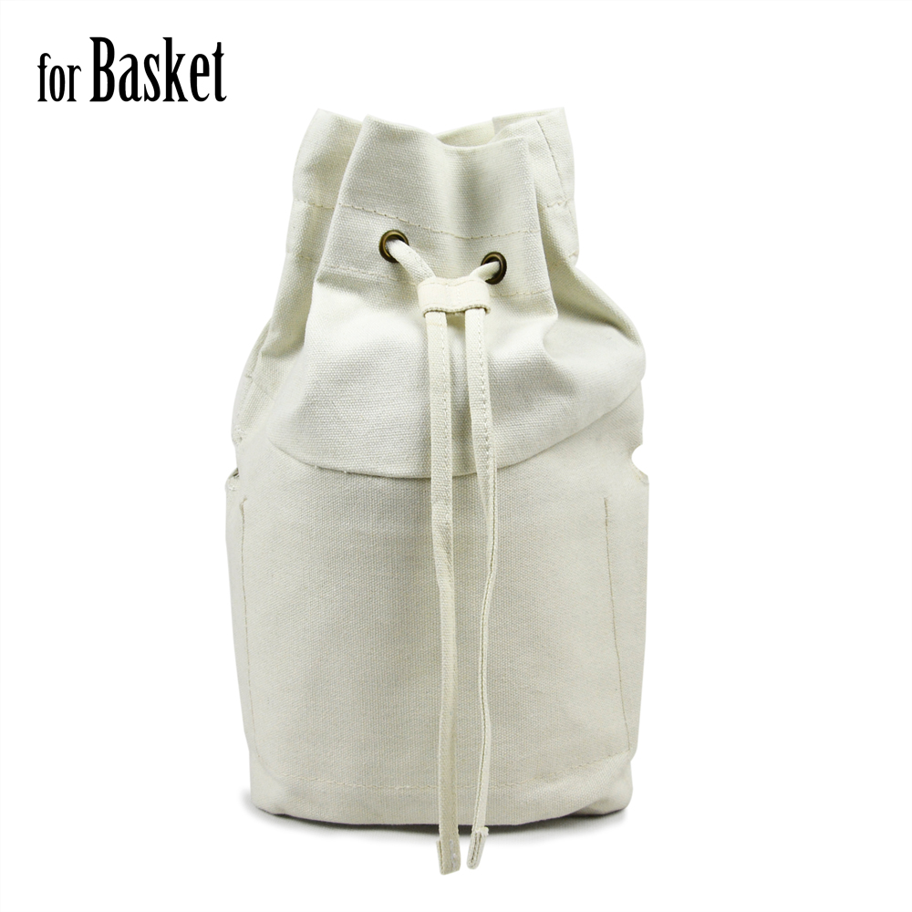 Basket inner insert canvas inner pocket lining for fullspot o basket O bag waterproof insert for Am basket bag bucket obag new canvas insert tela insert for o chic lining canvas waterproof inner pocket for obag ochic