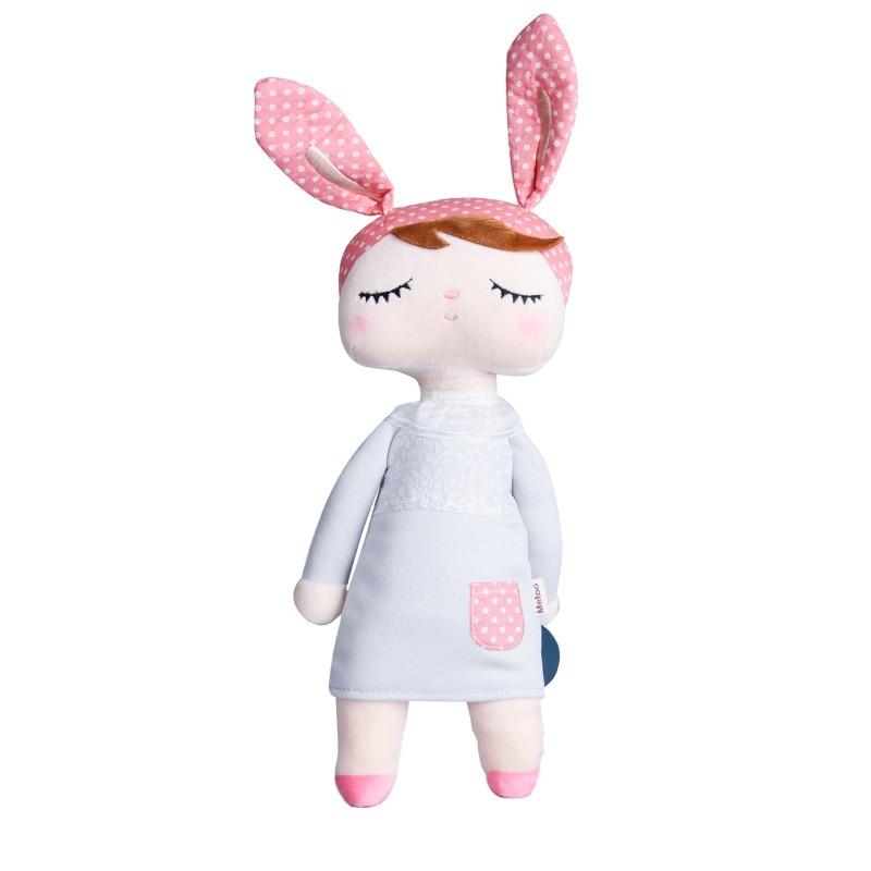 Kawaii Plush Stuffed Animal Cartoon Kids Toys for Girls Children Baby Birthday Christmas Gift Angela Rabbit