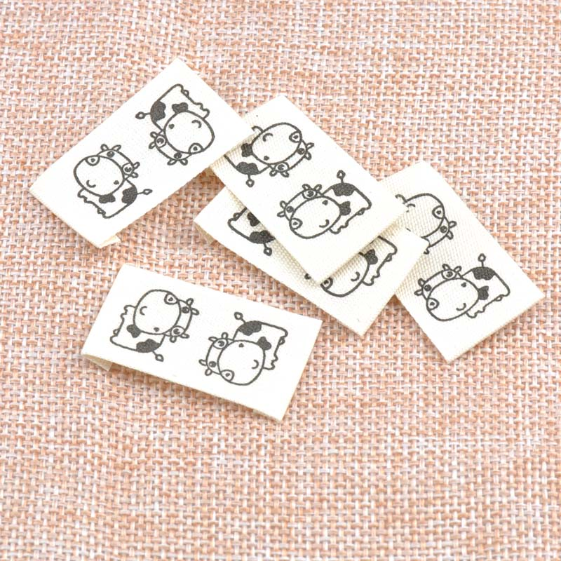 Buy 50pcs in stock washable cloth woven for Sew in craft labels