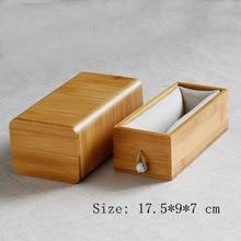 Fashion Bamboo Storage Box Simple Small Family Retro
