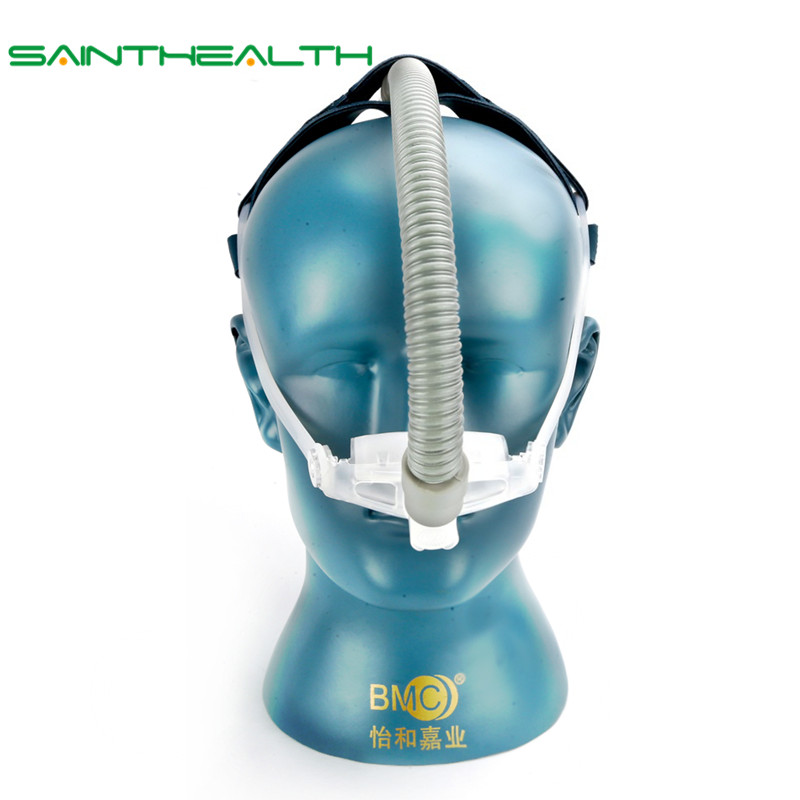 WNP Nasal Pillow CPAP Mask Silicone Gel SML Size Cushion All In Medical Sleep Mask For