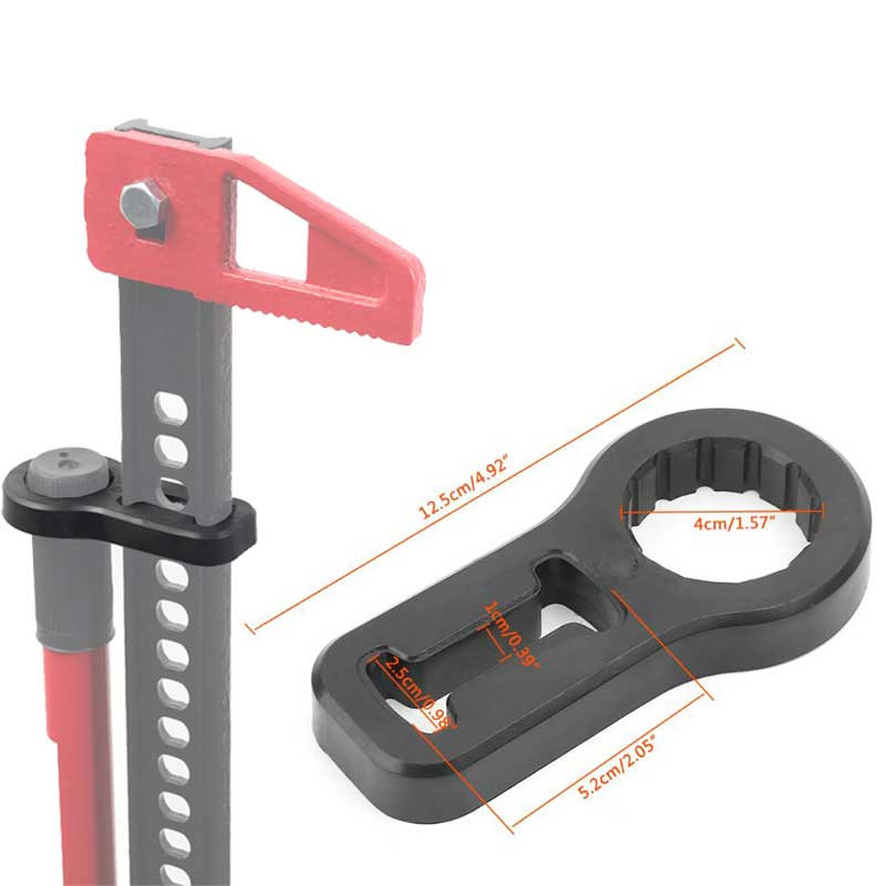 High Lift Polyurethane Handle Holder/Keeper Anti Rattle Protector For Farm Jack