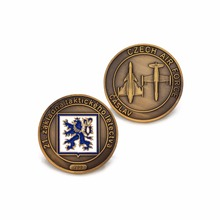 Custom Souvenir Coin cheap custom military Coin low price custom you own LOGO plating antique gold coins custom double sided logo coin new electroplated gold coin high quality low price