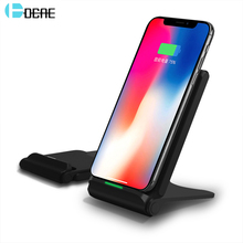 DCAE Qi Wireless Charger 10W For iPhone X 8 XS MAX XR Samsung S8 S9 Plus