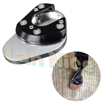 For ktm 990 adventure r s lc8 690 950 side kickstand stand extension plate foot silver.jpg 350x350