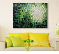 Plants And Flowers Hand Painting Oil Painting Decorative Painting Paintings Knife Painting On Canvas