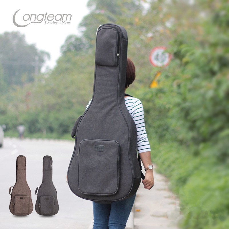 Guitar Case Bag 20 mm Acoustic 40 41 Inch Classical Folk Flattop Balladry Guitarra Waterproof Backpack Accessories Carry Gig 41 inch classical acoustic guitar back carry cover case bag 5mm shoulder straps