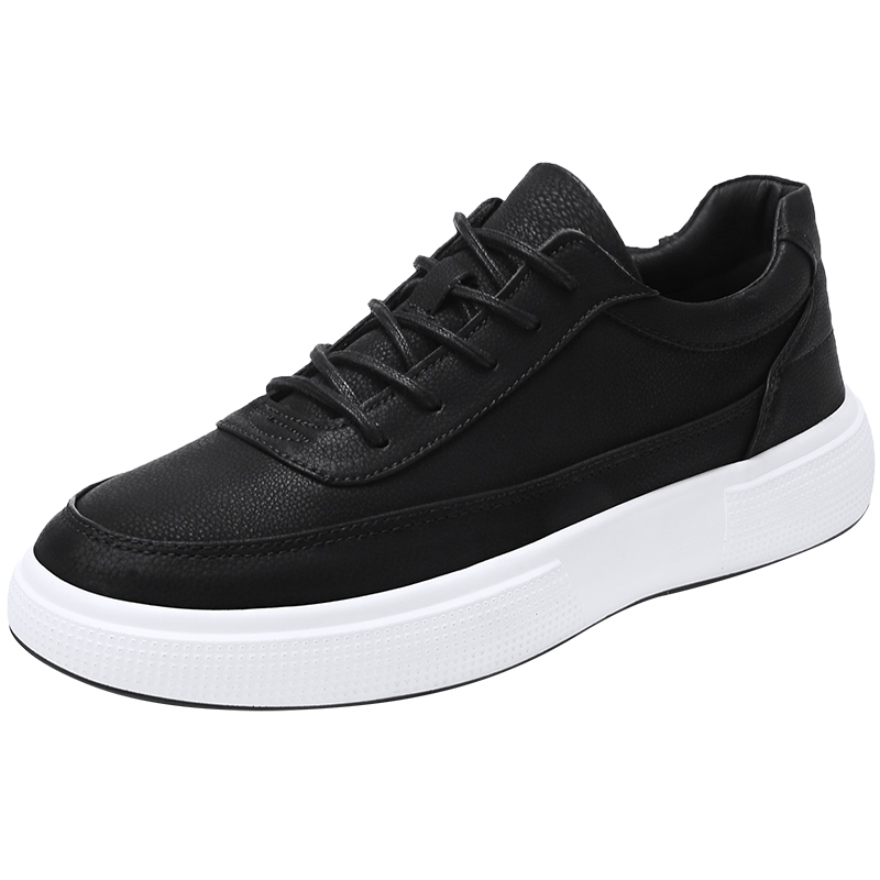 Anti skidding Sole Shoes for Men Flat Quality White Black Youth Trending Style Footwear Chaussure Homme