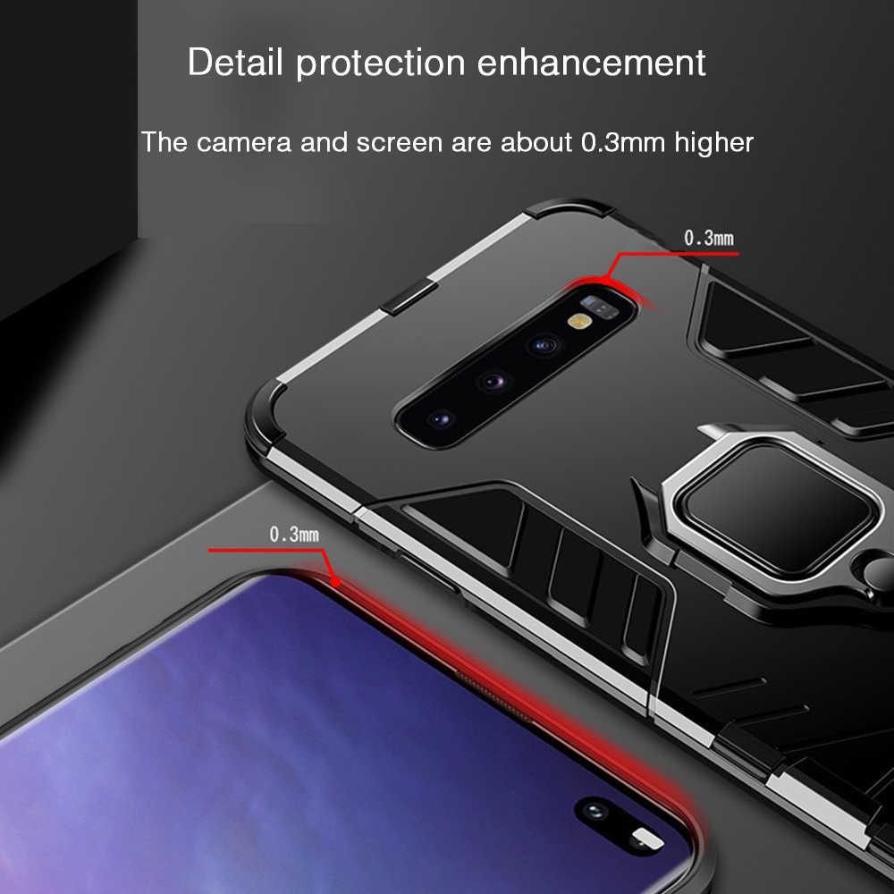 Heyytle противоударный чехол для samsung Galaxy S9 S8 Plus S7 edge A5 S10 металлический магнит кейс держатель для колец чехол Note 8 9 чехол