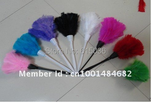 5pc/lot New Turkey Feather Duster 12 14'' White/Rose/Green ...
