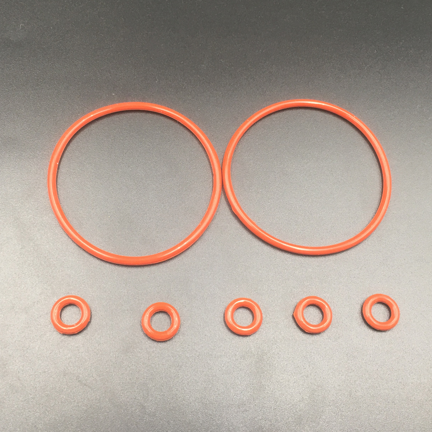 20pcs 40x4 40*4 42x4 42*4 44x4 44*4 (OD*Thickness) 4MM Thickness Food Grade Red Silicone Oil Seal O Ring O-Ring Gasket