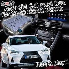 Android gps-навигатор для Lexus IS 2014-2017 и т. д. видео интерфейс с ручкой управления мышью Carplay IS300h IS250 по Lsailt
