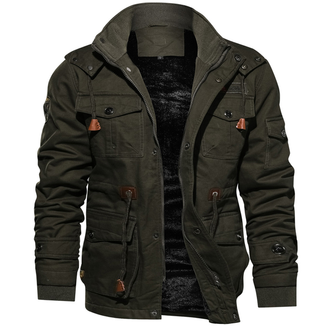 2020 Jacket Men Thick Warm Military Bomber Tactical Jackets Mens Outwear Fleece Breathable Hooded Windbreaker Coats 5XL Clothes 6
