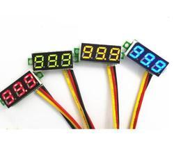 Alta Qualidade DC 4-32 V LCD Voltímetro Digital Amperímetro Voltimetro Amperímetro LED Vermelho Volt Medidor Medidor de Medidor de tensão