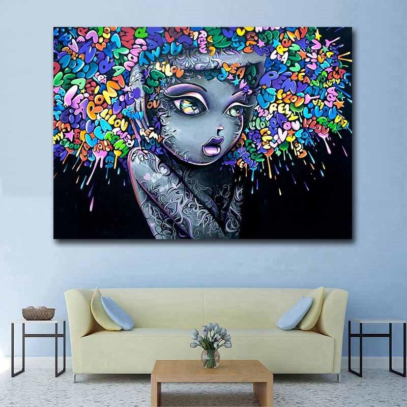 "12/""x20/""Fierce venom HD Canvas prints Painting Home decor Picture Wall art Photos"