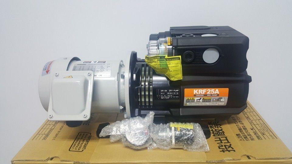 Japanese ORION Orion oil-free vacuum pump krf25-v-03 [original] genuine original orion orion vacuum pump krx5 p v 03