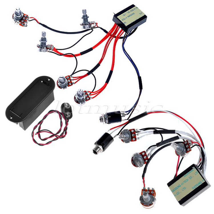 Guitar Active EQ B2T & EQ B3T Preamp Circuit for Active B ... on