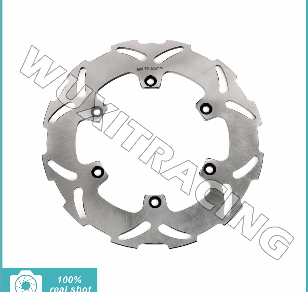 front brake disc rotor for ktm 450 500 505 520 525 530 540600 620 625 exc f sixdays egs sxs mxc xc w sx f lc4 94 16 Sliver New Rear Brake Disc Rotor for KTM 125 150 200 250 300 540 600 620 625 640 EXC F SIXDAYS GS MXC XC W SXS LC4 SMC SMR 91-17
