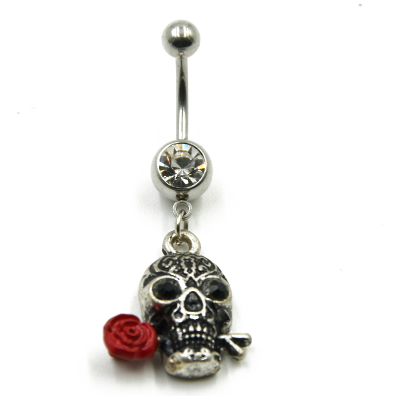 Us 0 88 49 Off 1pc Gemmed Play Basketball Dangle Belly Button Ring Navel Piercing Nombril Ombligo Body Jewelry In Body Jewelry From Jewelry