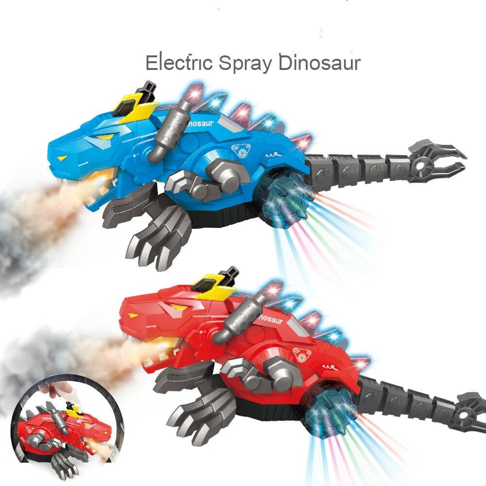 pop spray dinossauro dragao funcao brinquedos eletricos com musica robo eletronico caixa de presente do animal