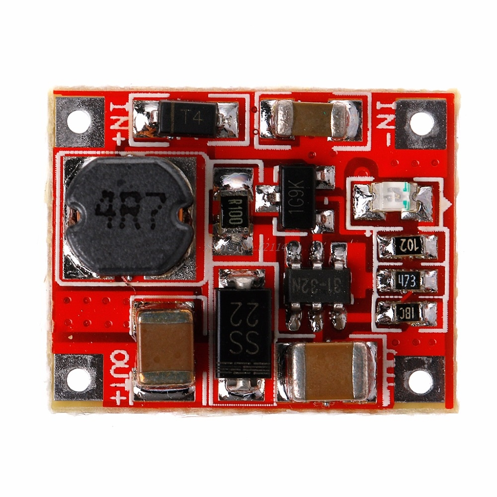 Dc Boost Power Supply Module Booster Step Up Converter Circuit Circuits Apmilifier 5v To 12v Lm2577 Voltage Board 3v In Integrated From Electronic Components Supplies On