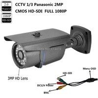 CCTV 1 3 Panasonic 2MP CMOS HD SDI 1080P Waterproof Outdoor SDI IR Security Camera 3