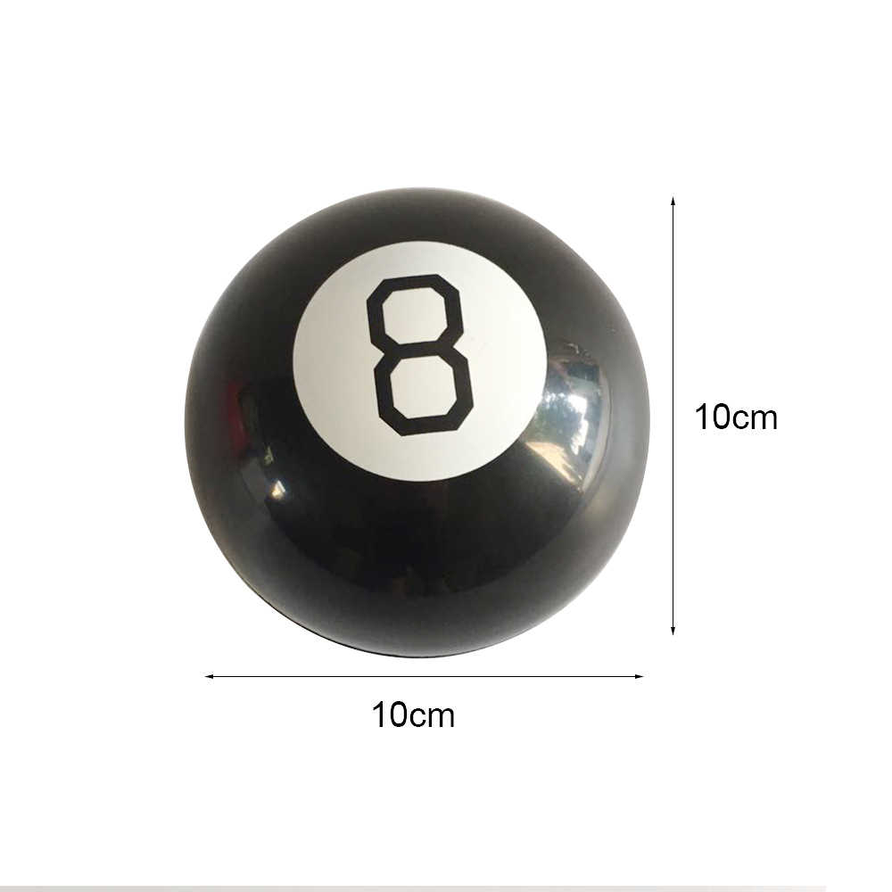 Черный 8 волшебный предсказать Мяч веселые сферические магические обучающие игрушки для детей магические трюки Классические игрушки Горячая Распродажа