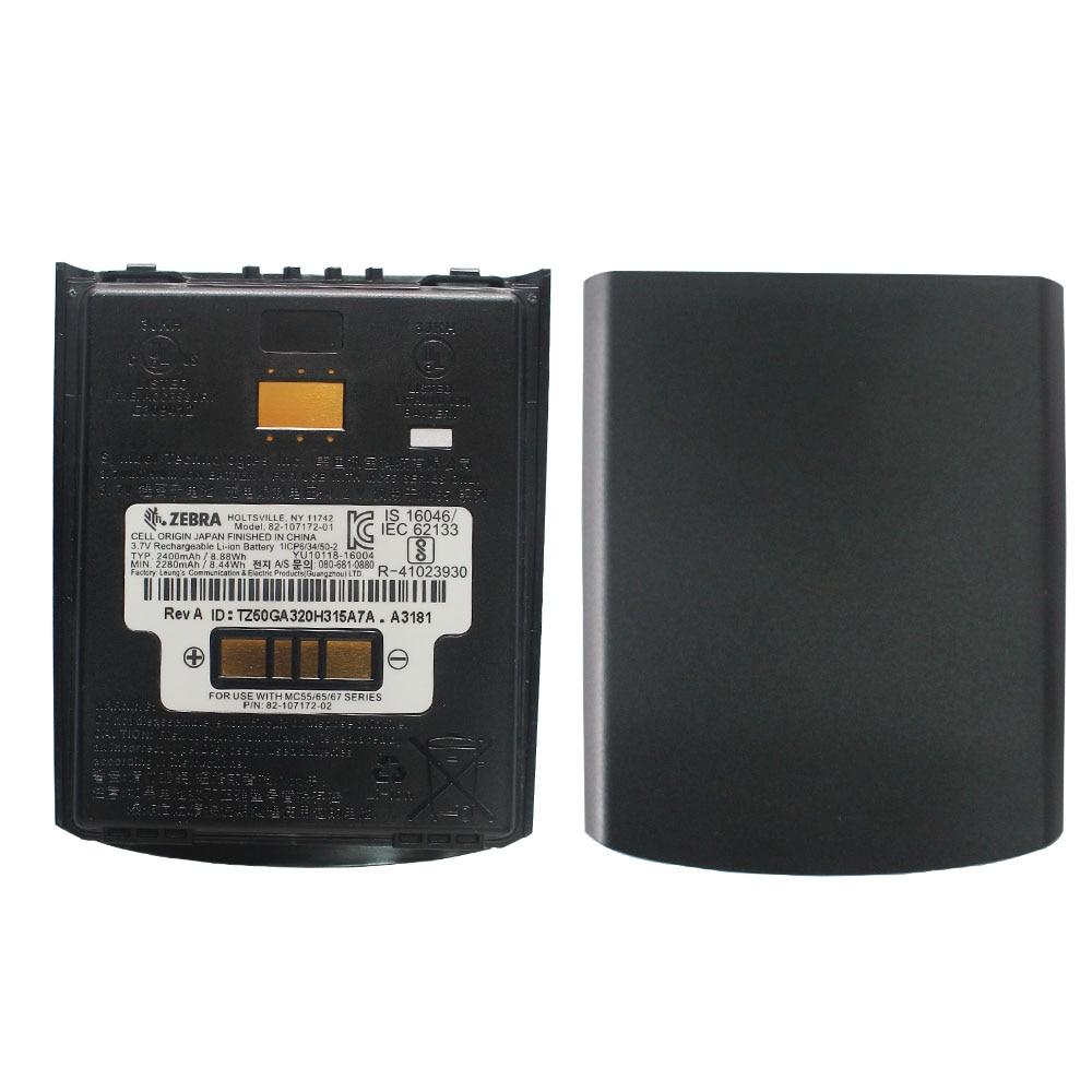 все цены на SEEBZ 2pcs 82-107172-02 New Original Battery for Motorola Symbol MC55 MC55A MC55N MC65 MC67 2400mAh PDA Replacement Battery