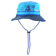 3f12275b Summer Unisex Kids Mesh Sun Hats Boys Girls Outdoor Sports Bucket Hats for  Children Cartoon Car