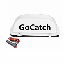 цена на 12V GoCatch Taxi Top Light New LED Roof GoCatch Sign TOP light with Magnetic Base 3M line for Australia car