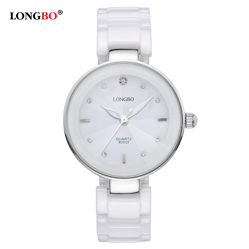 Ladies Longbo Charm Wrist Watches Girls Students Bracelet Ceramic Watch Women Dress Quartz Clock Dropshipping relojes de mujer hot hothot sales colorful boys girls students time electronic digital wrist sport watch free shipping at2 dropshipping li