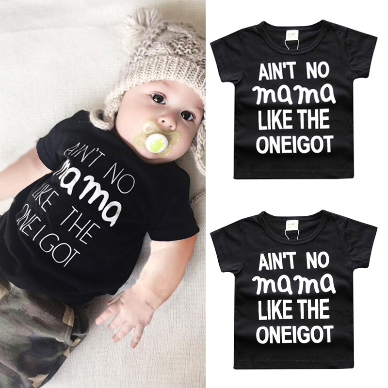 Cute Babies Baby Boys Girls Childrens Clothes Summer With Short Sleeve Cotton T-shirts baby clothes SC019