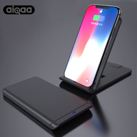Aiqaa Qi Wireless Charger For IPhone X 8 10 Samsung Note 8 S8 Plus S7 S6