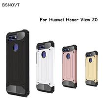 Case Huawei Honor View 20 Cover Anti-knock Soft Silicone + Hard Plastic Case For Huawei Honor View 20 Funda Huawei Honor V20> защитное стекло mobius huawei honor view 10 синий