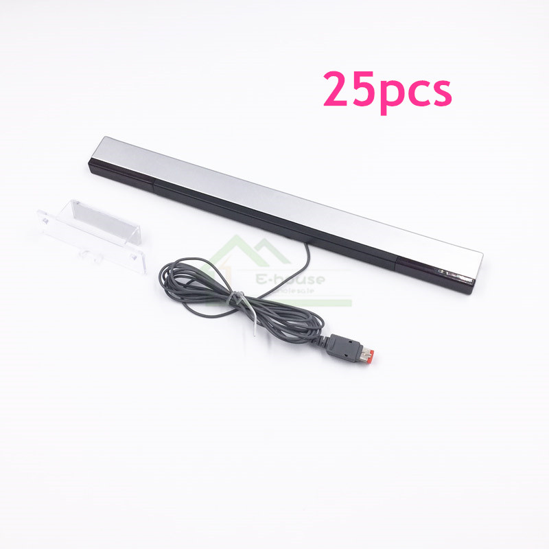 E house 25pcs Infrared Wired IR Signal Ray Sensor Bar replacement for Nintendo for Wii Remote
