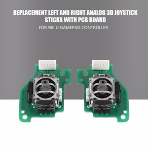 Image 3 - Left & Right Analog 3D Joystick Sticks Replacement for Nintendo for Wii U GamePad Controller