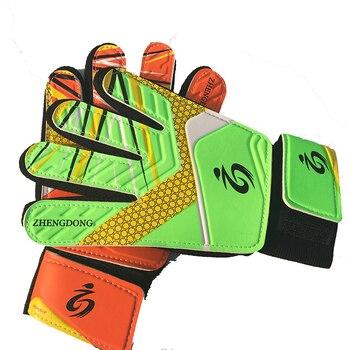 Guantes de látex de alta calidad para niño, guantes de portero de fútbol, suaves, de 5 a 16 años
