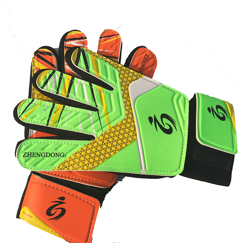 Hohe qualität latex handschuhe kinder fußball torwart handschuhe guantes de portero für kinder 5-16 jahre alt weiche torwart handschuhe