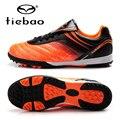 TIEBAO Professional Botas De Futbol Outdoor Soccer Shoes Kids Soccer Cleats TF Turf Soles Football Boots Sneakers EU 30-38