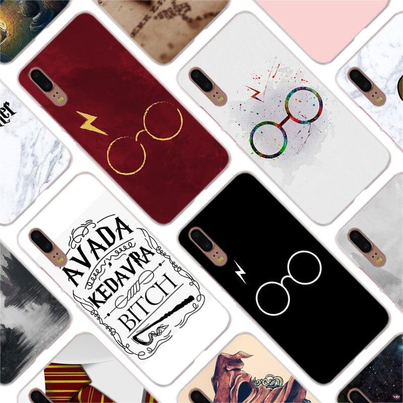 100% Kwaliteit Binful Poster Harry Potter Mode Clear Cover Case Voor Huawei P30 P20 Mate20 Pro P8 P9 P10 Mate10 Lite Mini 2017 Plus P Smart Onderscheidend Vanwege Zijn Traditionele Eigenschappen