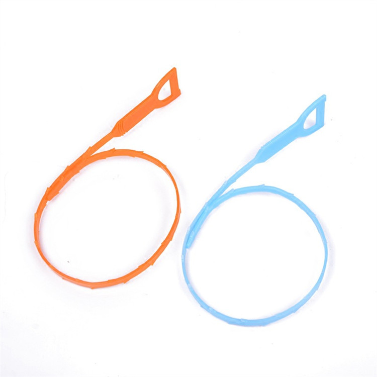 Image 3 - 1PC Sink Cleaning Hook Bathroom Floor Drain Sewer Dredge Device Sewer Cleaning Brush Bathroom Kitchen Accessories-in Cleaning Brushes from Home & Garden