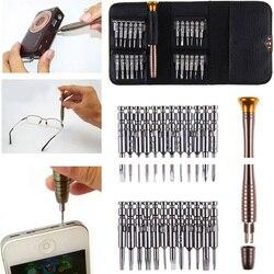 25 em 1 Torx Conjunto Chave De Fenda Magnética Ferramenta de Reparo Do Telefone Móvel Relógio de Mão Kit Ferramentas Para Iphone IPad Tablet PC ferramentas de Telefone celular