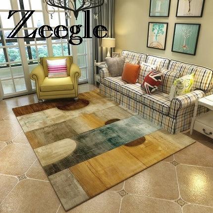 Zeegle peinture abstraite tapis chambre chevet tapis décor à la maison zone tapis antidérapant canapé Table tapis de sol salon tapis enfants tapis