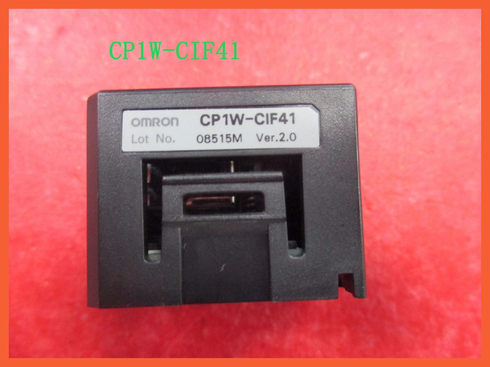 New Original CP1W-CIF41 Ethernet Option Board PLC Expansion Unit for Omron Sysmac CIF41 dhl ems 1pcs twddra8rt original for schneider plc expansion modules