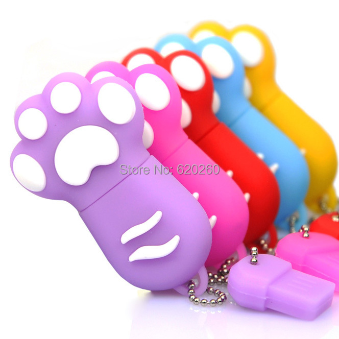 New Cartoon Cat Claw font b Usb b font flash drive 4gb 8gb 16gb 32gb cat