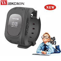 Hot! Mini GPS Kid Q50B Safe smart Watch SOS Call Location Finder Locator Tracker for Child Anti Lost Monitor Baby Son Wristwatch